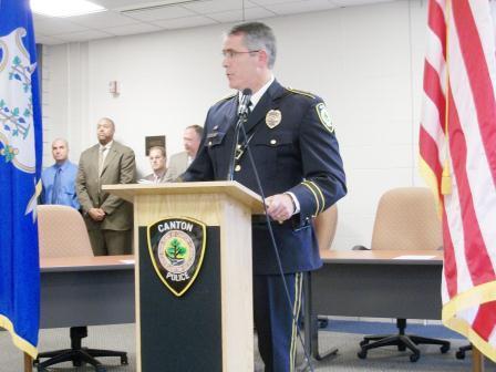picture of police Chief Christopher Arciero
