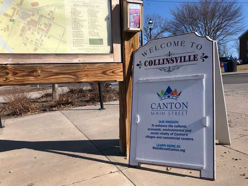 welocme to Collinsville sign